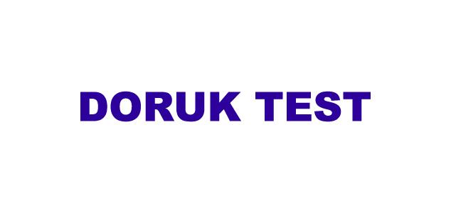DORUK TEST
